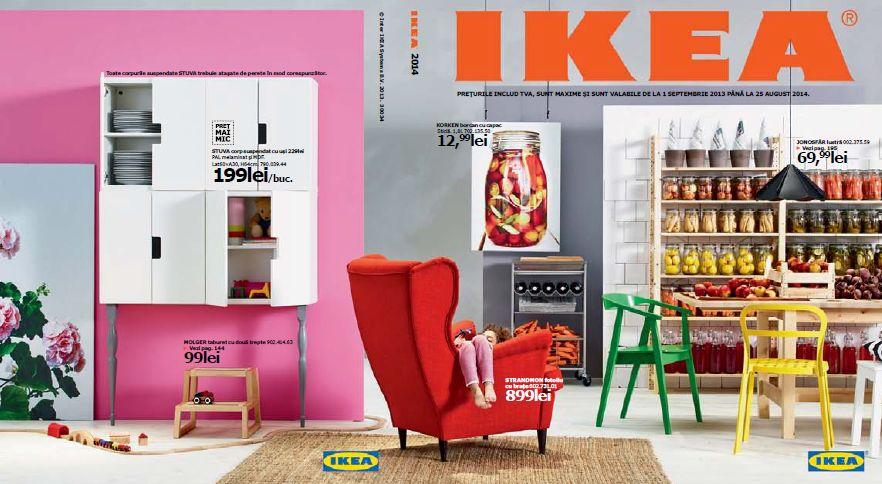 IKEA lansează un nou catalog pentru 2014