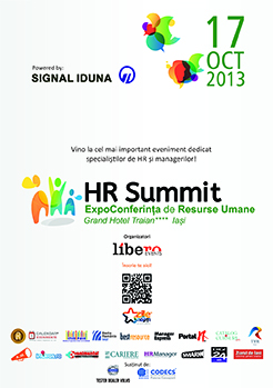 HR Summit - pe 17 octombrie, la Iași