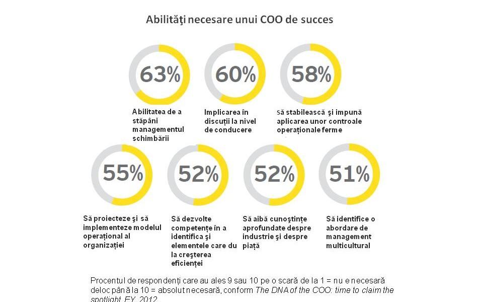 Cele 7 abilităţi principale ale directorilor operaţionali - Studiu EY