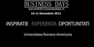 Bucureşti Business Days – peste 800 de potenţiali clienţi sau colaboratori te aşteaptă