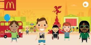 McDonald's a creat prima reclamă digitală complet interactivă din lume