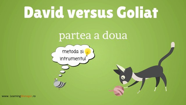 David versus Goliat – Continuare