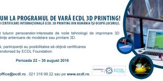 Curs de imprimare 3D
