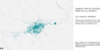 Uber ajunge in Cluj in prima saptamana din August