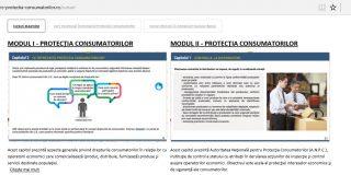 Primul curs online din România destinat protecției consumatorilor
