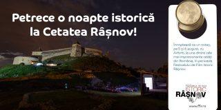 Cetatea Râșnov, prima citadela din Romania listată pe Airbnb