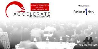 Accelerate. Sales Conference va aborda vânzările