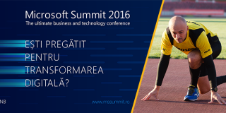 Ambasadorii transformarii digitale pe scena Microsoft Summit 2016