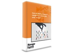 Manager Express e-book, Cum si unde gasim oameni?