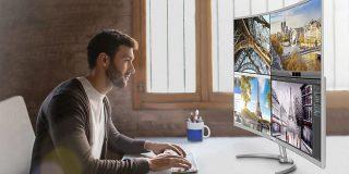 Philips lanseaza cel mai mare monitor 4K curbat