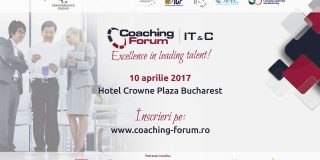 Performance Group organizeaza pe 10 aprilie 2017 cel de-al treilea eveniment Coaching Forum si primul dedicat companiilor din industria IT & C din Romania.