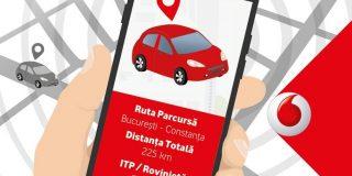 Vodafone lanseaza o solutie pentru monitorizarea flotelor auto de mici dimensiuni