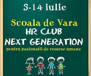Scoala de vara: HR Club, Next generation