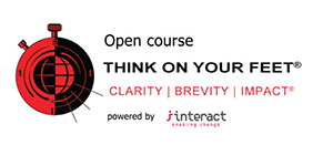 Open Course Interact: Think on Your Feet