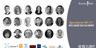 """""""Operational HR"""" la Cluj-Napoca – evenimentul dedicat operatiunilor si proceselor organizationale"""