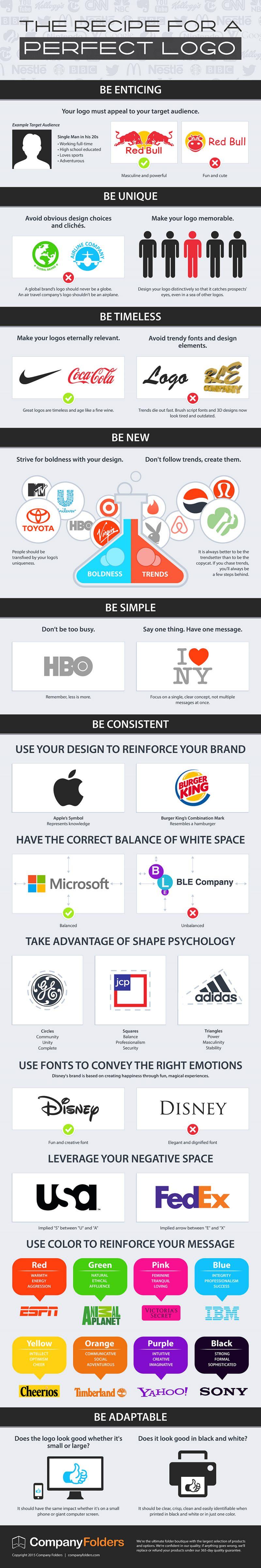 Cum sa creezi un logo care sa iasa in evidenta (infographic)