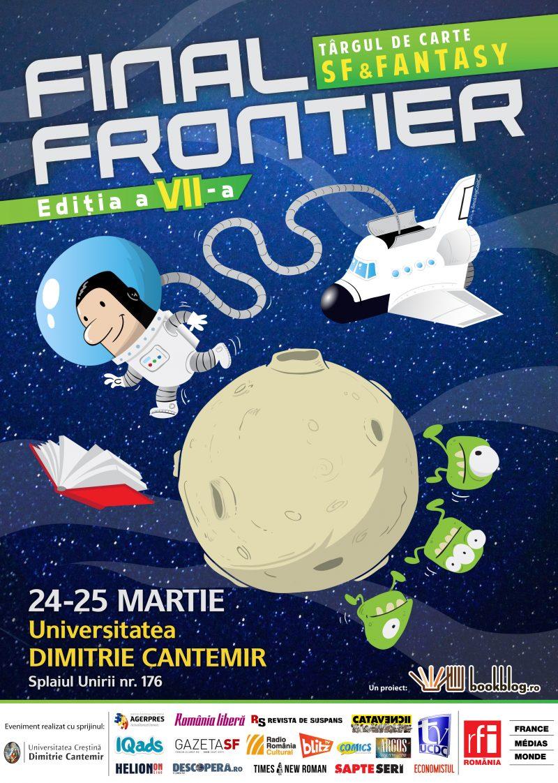 A şaptea ediţie a târgului de carte SF&Fantasy-Final Frontier