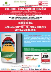 Result eveniment Libraria Carturesti - afis_15 aprilie