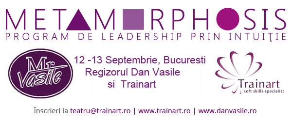 Metamorphosis- Program de Leadership prin Intuiție