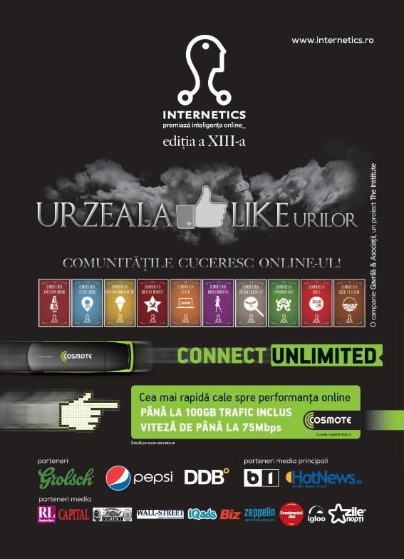Internetics 2013 - 200 de lucrări, înscrise în competiție