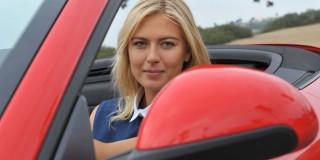 Strategie: Porche și Maria Sharapova - creștere spectaculoasă de vânzări în 2013