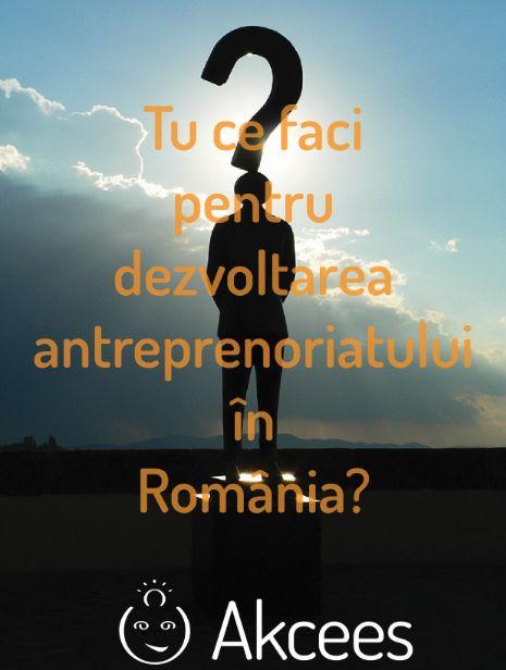 48% dintre români vor să devină antreprenori - studiu Akcees