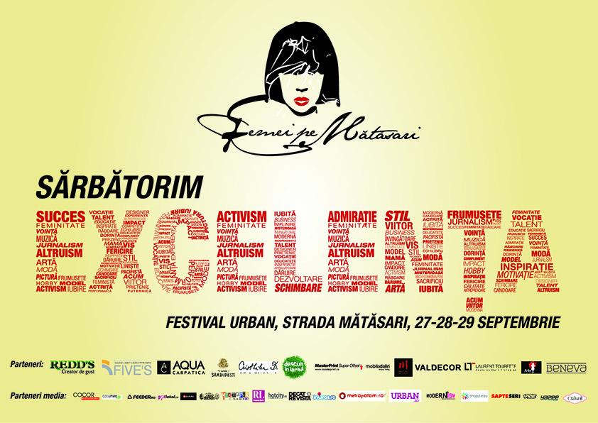 """Începe a treia ediție a Festivalului Urban """"Femei pe Mătăsari"""""""