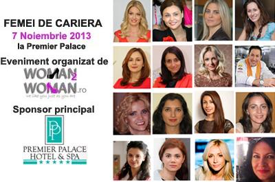 """Conferința """"Femei de carieră"""" - Ce calități trebuie să-și dezvolte o femeie de carieră"""