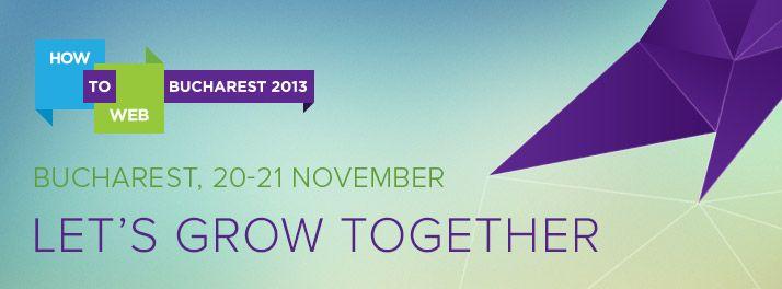 How to Web 2013 - Despre dezvoltarea produselor și afacerilor durabile