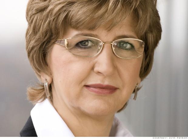 Mariana Gheorghe, CEO Petrom, în topul celor mai puternice 50 de femei din lume