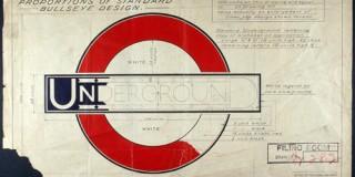 """Lawrence spune ca London Underground Roundel este un logo unic pentru ca reprezinta un oras, un loc, o retea de transport, o experienta""""."""