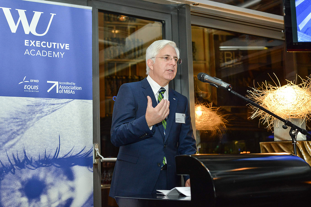 Bodo Schlegelmilch: WU Executive Academy a început cursurile EMBA de la București cu peste 50% directori generali
