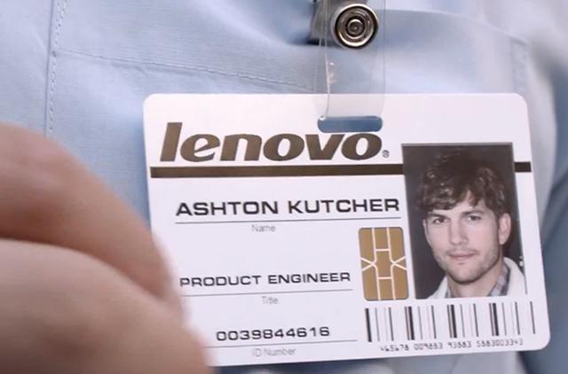 Ashton Kutcher, noul inginer de produse al Lenovo
