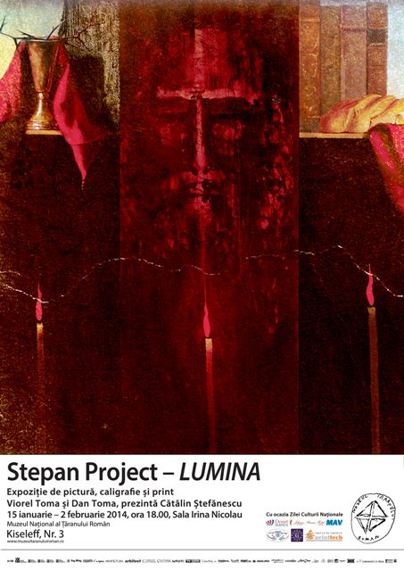 Expoziție de pictură, caligrafie și print - Stepan Project - Lumina