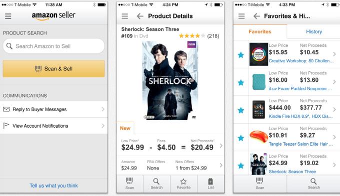 Amazon Seller - Noua aplicație Amazon pentru oamenii de vânzări
