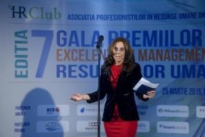 Elena Klaici la Gala HR Club