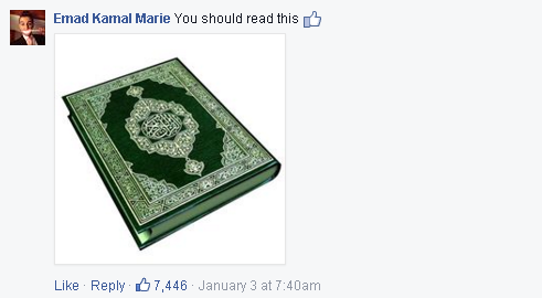 Mark Zuckerberg My challenge for 2015 is to read a new book...