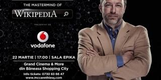 Fondatorul Wikipedia vine în premieră în România