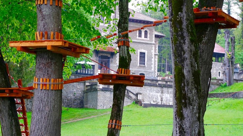 Adventure@theCastlePark, la Castelul Cantacuzino din Buşteni, începând din 28 mai