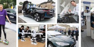 Încă două zile de gadget-uri şi roboţi la Bucharest Technology Week