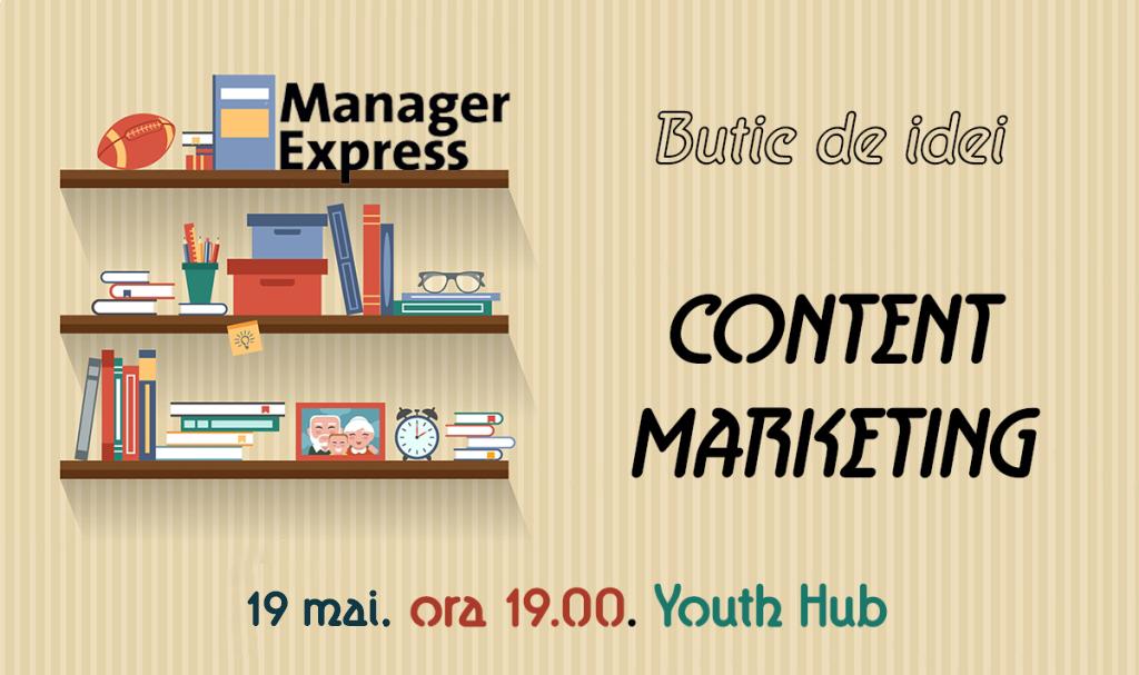 Butic de idei - Content Marketing
