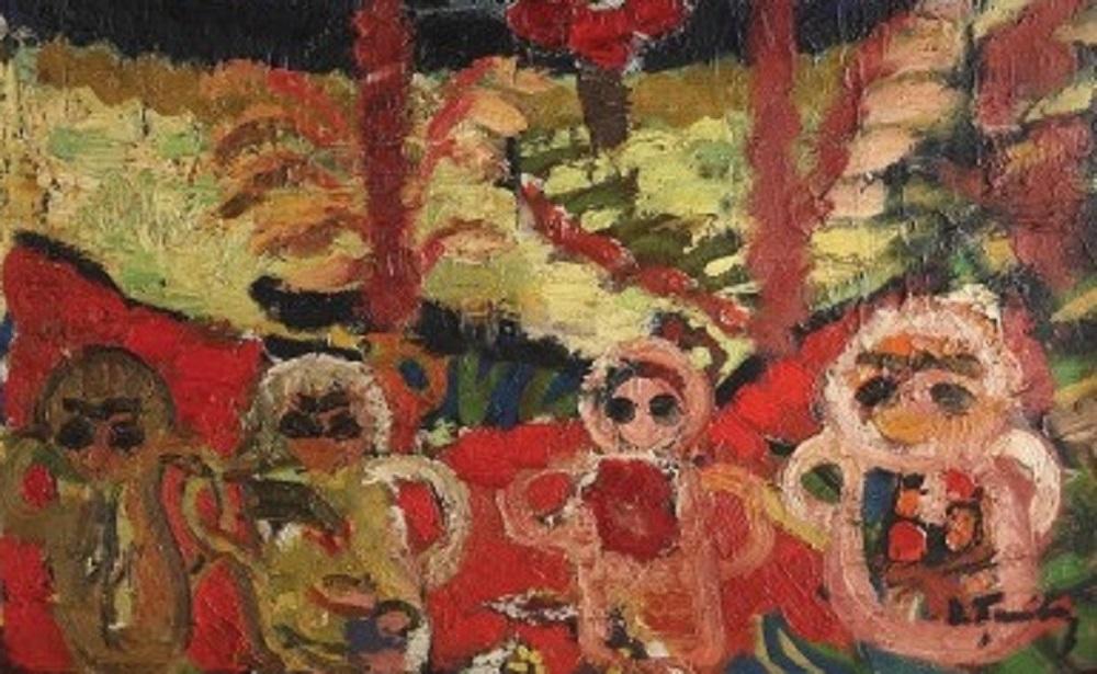 Tablou de Ion Țuculescu, vândut la dublul prețului de pornire într-o licitaţie online