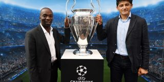Trofeul UEFA Champions League prezentat duminica in Baneasa Shopping City