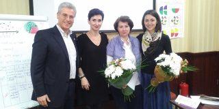 Ferruccio Fiordispini, Master Trainer Emergenetics si Country Representative pentru Italia, a facut o scurta vizita în Romania.