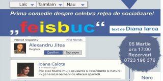 Feisbuc, prima comedie românească despre reţeaua de socializare, la Teatrul Roşu