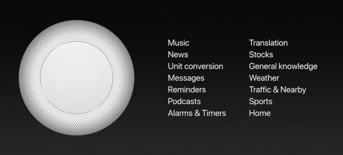 Homepod, Apple WWDC