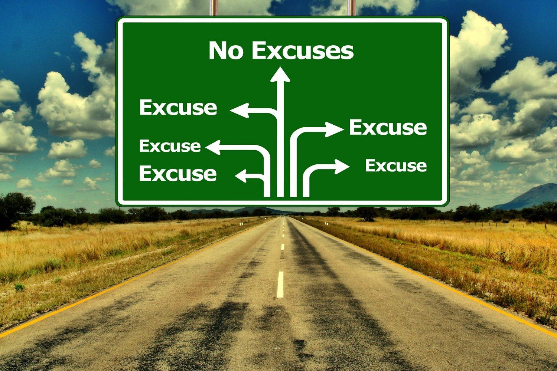 Nu mai cauta scuze pentru a renunta la succes