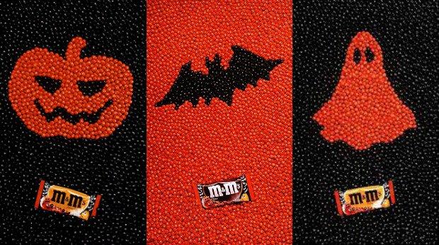 "Zece reclame ""teribile"" de Halloween, m&m's"