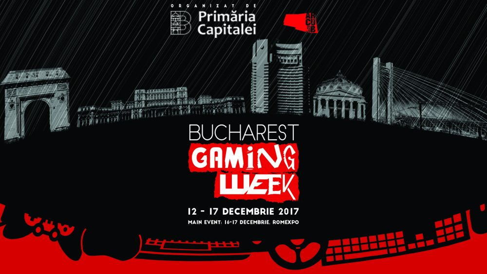 Bucuresti se transforma in capitala gaming-ului prin Bucharest Gaming Week