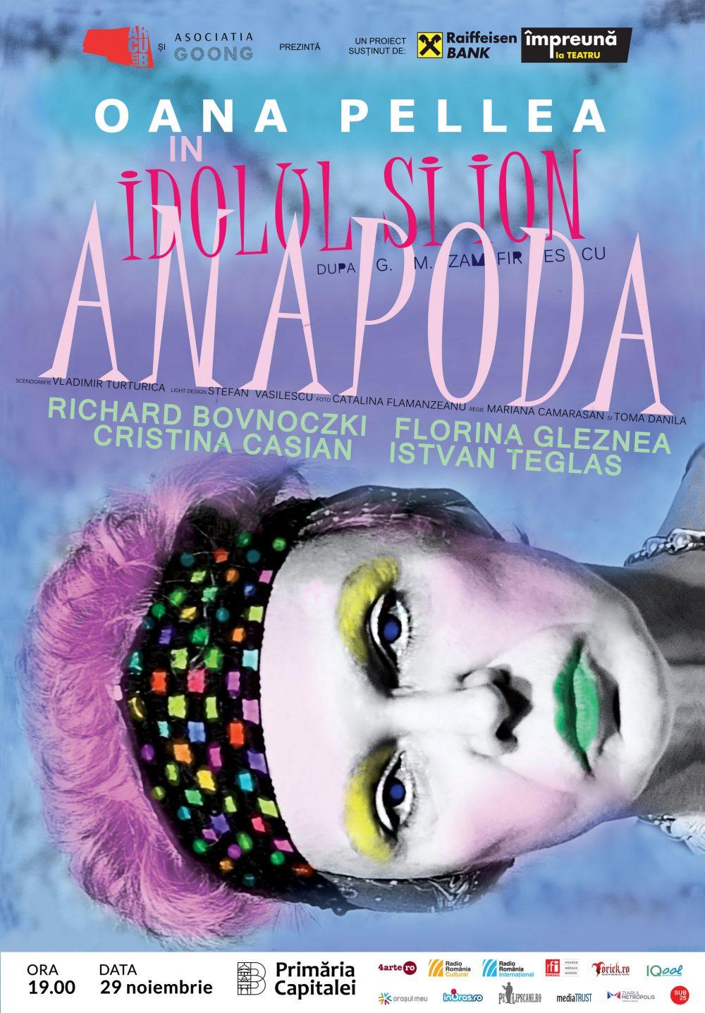 Spectacol de teatru Idolul si Ion Anapoda